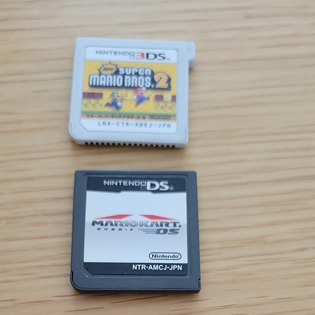 DS マリオカート3DS Newスーパーマリオブラザーズ2 セット