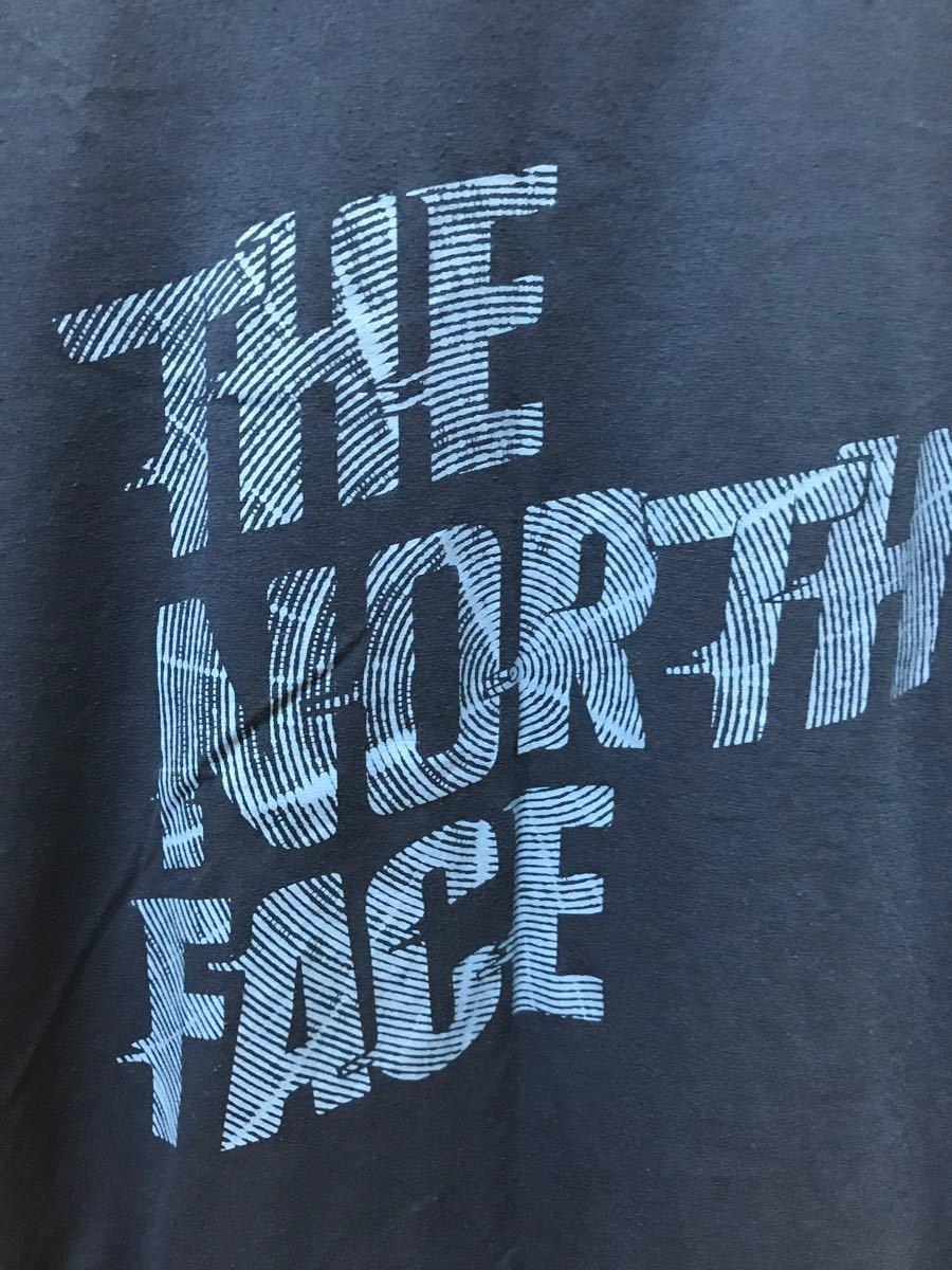 THE NORTH FACE ザノースフェイス 半袖Tシャツ ネイビー Mサイズ