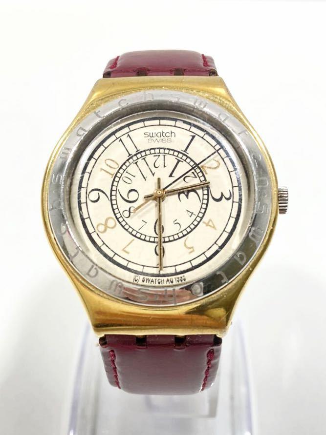 オシャレ!SWICH swiss スウォッチ 1993 腕時計 稼働確認済み メンズ腕時計