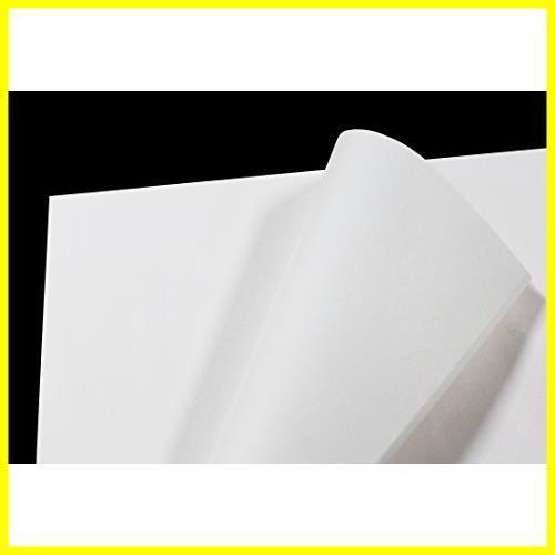 【即決 早い者勝ち】フジパック 純白紙 片面ツヤ加工 包装紙 100枚_画像1