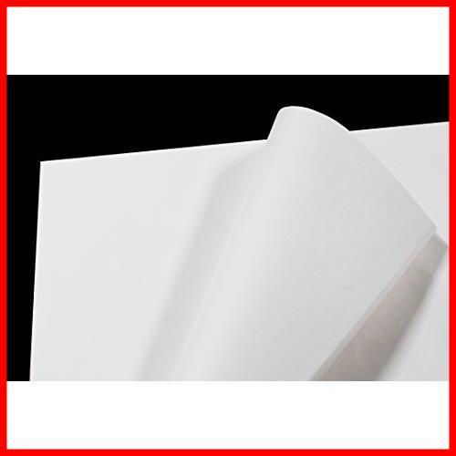【即決 早い者勝ち】フジパック 純白紙 片面ツヤ加工 包装紙 100枚_画像3