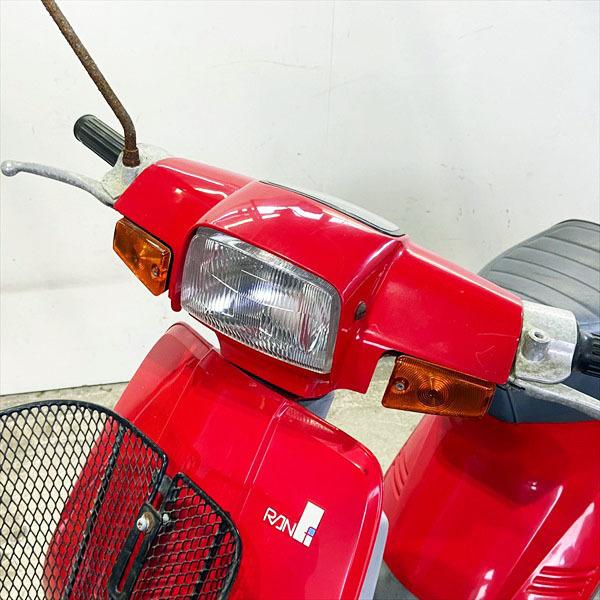 「*G3589 スズキ RAN-ラン- 50cc 【カギ有】【走行:1483Km】【CA17A】■譲渡証発行 ■旧車■ジャンク品レストアベース SUZUKI」の画像2