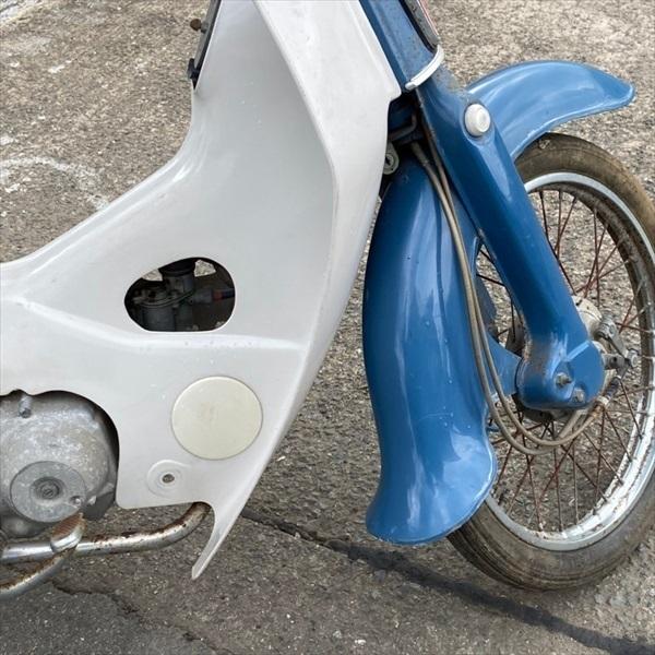 「*G3593 ホンダ 行灯カブ あんどん 50cc ■旧車 ■レトロ【カギ2本】【C50】■レストアベース HONDA モナカ型」の画像3