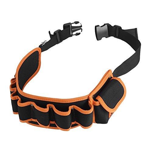 工具腰袋 工具袋 工具差し 腰袋 電工ベルト ウエストバッグ ガーデニング 作業 園芸 携帯 工具入れ ベルトバッグ_画像8