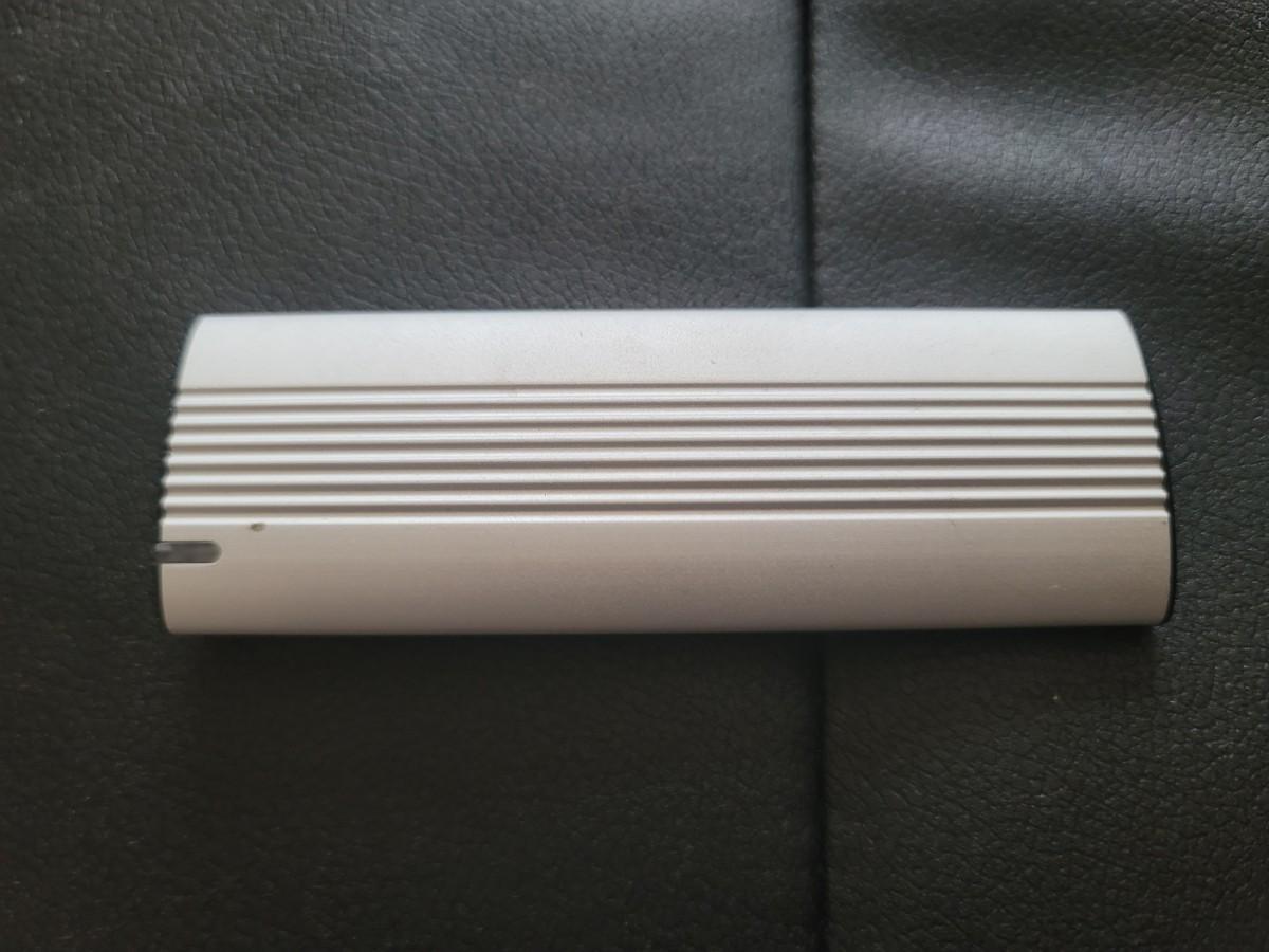 エレコム製 外付けSSD 高速 max1000MB/s 500GB type-c  ESD-EH0500GSV
