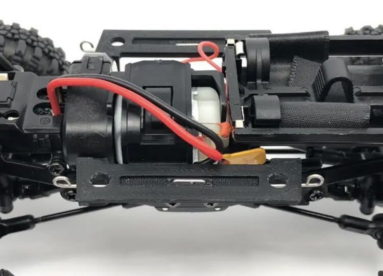 RGTタイヤ + 真鍮製変換ハブ + ABS製 ミニッツ 4x4 ジープ 用 10mm リフトアップパーツセット 4×4
