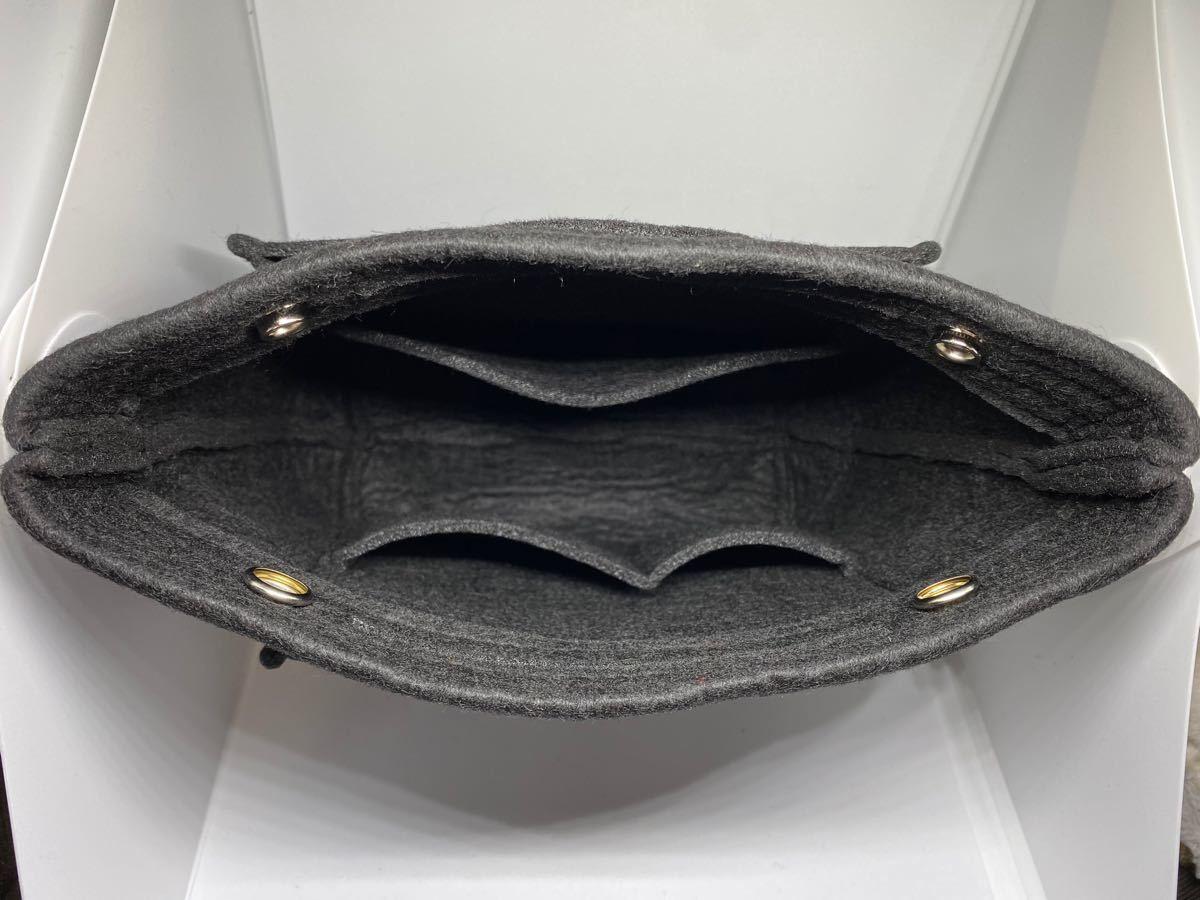 バッグインバッグ 大容量 収納バッグ インナーバッグ バックインバック ミニ 黒 インナーバッグ ポーチ ハンドバッグ 男女兼用