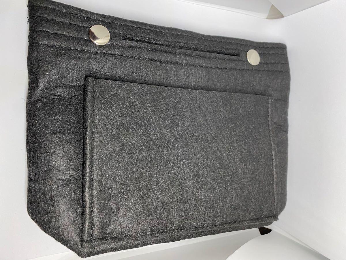 バッグインバッグ 大容量 収納バッグ インナーバッグ バックインバック ミニ 男女兼用 黒