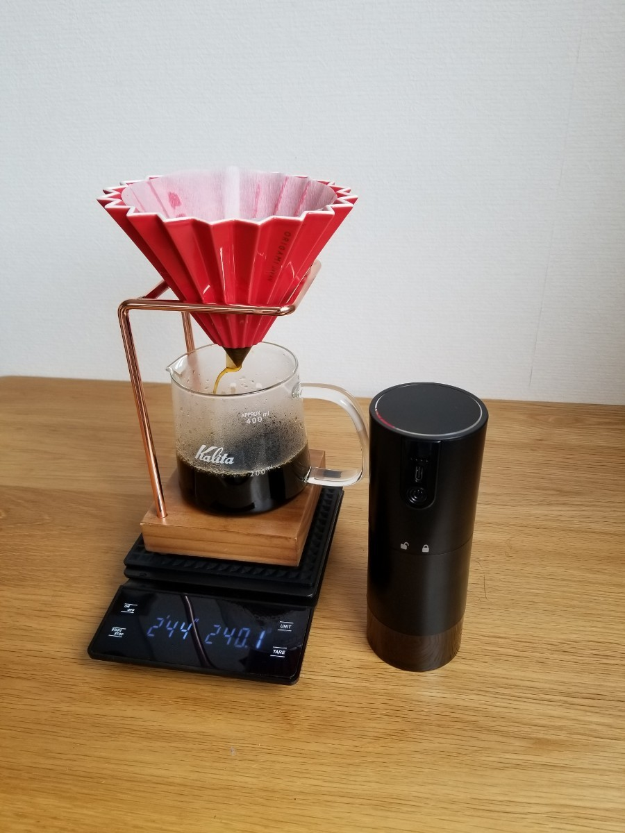 コーヒーミル エスプレッソグラインダー USB充電式