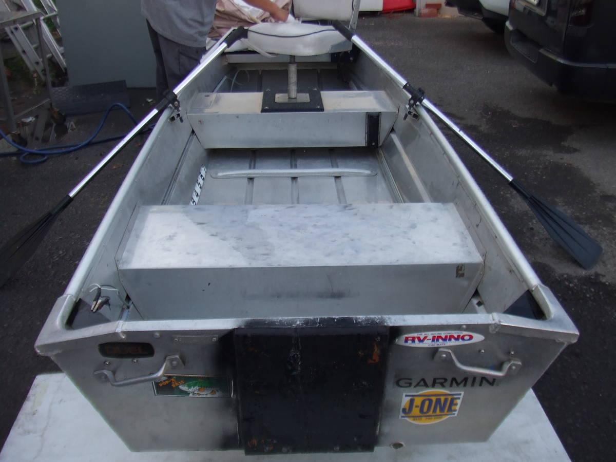 「札幌 アルミボート 全長3700mm パドル付き 北海道」の画像2