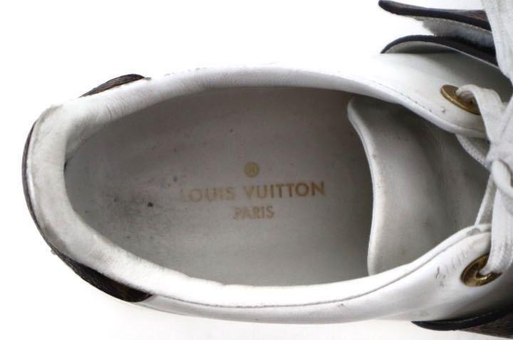 Louis Vuitton ルイヴィトン フロントロー・ライン スニーカー_画像7
