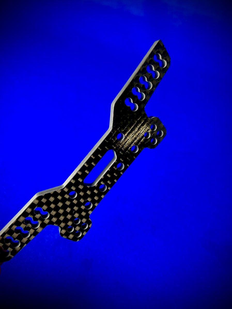 GRK4 フロントダンパーステー 4㎜カーボン 蕨山Carbon 平織艶あり R31HOUSE