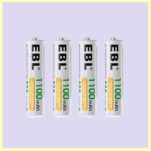☆★この時期限定★☆新品☆未使用★ 単4形充電池 EBL H-Y9 単4電池充電式 防災電池 充電式ニッケル水素電池 高容量1100mAhバッテリ_画像1