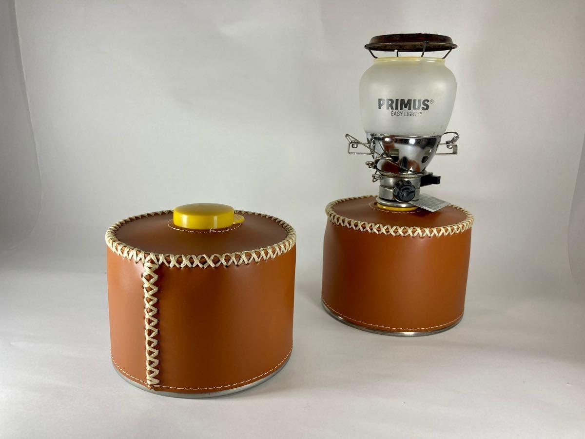 OD缶カバー レザー ブラウン 250サイズ用 2個セット おしゃれキャンプに!