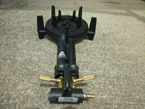 タチバナ TS-210 鋳物コンロ、バーナーのみ(下枠なし) プロパン LPガス用(送料無料)_画像2