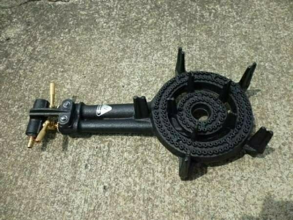 タチバナ TS-210 鋳物コンロ、バーナーのみ(下枠なし) プロパン LPガス用(送料無料)_画像1