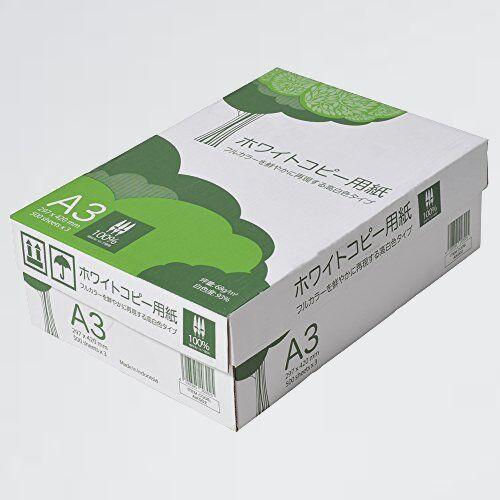 好評 新品 高白色 APP E-CG 紙厚0.09mm 1500枚(500枚×3冊) ホワイトコピ-用紙 A3 白色度93%_画像1