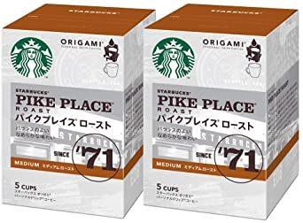 ネスレ スターバックス オリガミ パーソナルドリップコーヒー パイクプレイスロースト ×2箱_画像1