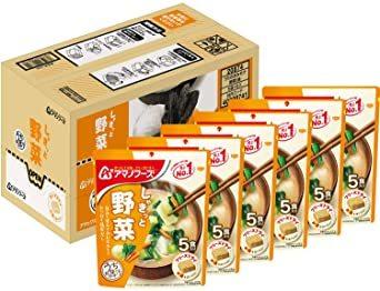 アサヒグループ食品 アマノフーズ うちのおみそ汁野菜5食 ×6袋_画像1
