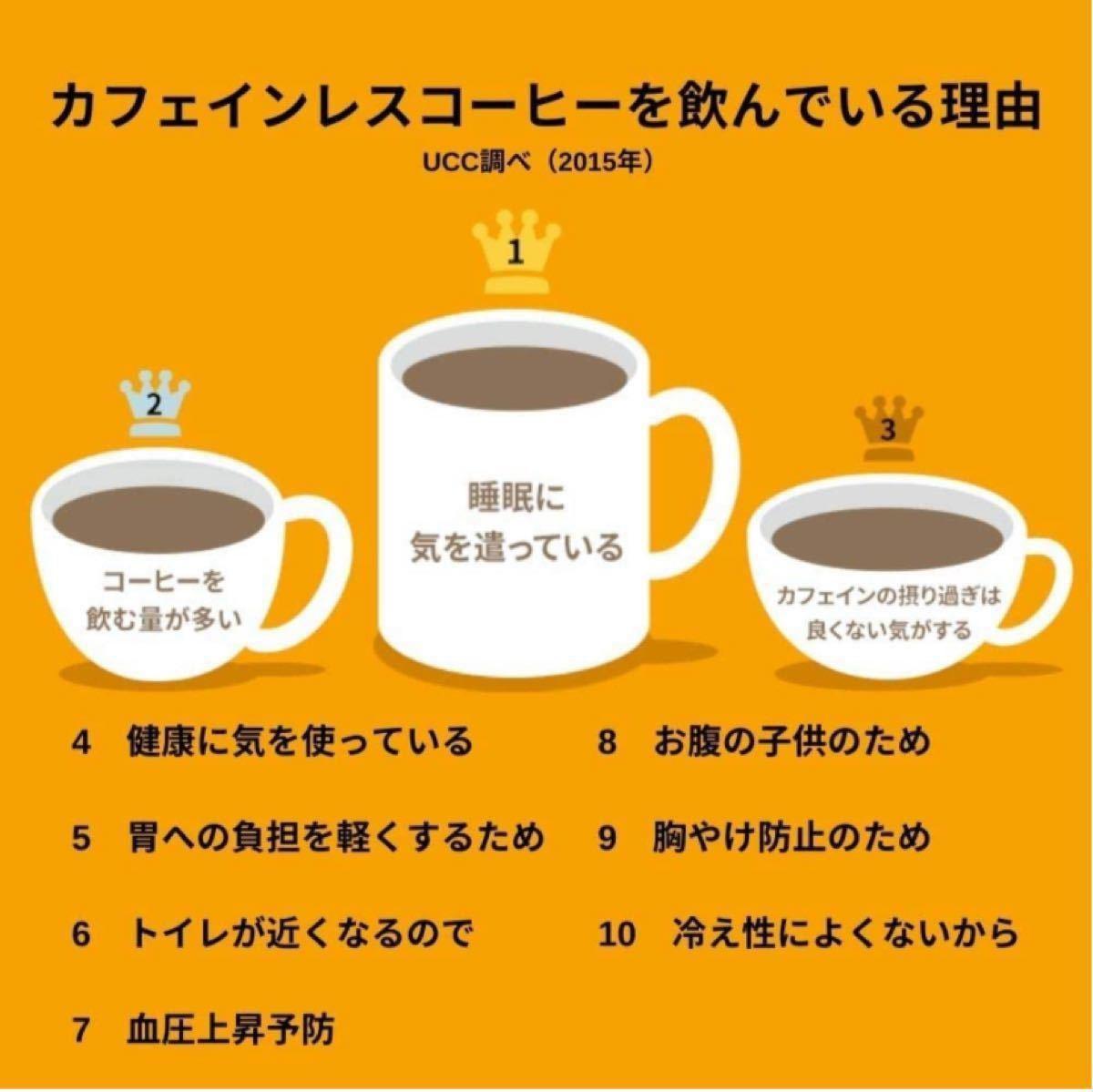 UCC おいしいカフェインレスコーヒー スティックコーヒー 30P   インスタント(スティック)