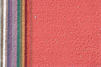 金銀振り 15×15cm 15枚 【Amazon.co.jp 限定】和紙かわ澄 日本の色 もみ和紙 金銀振り 15cm 15色 _画像1