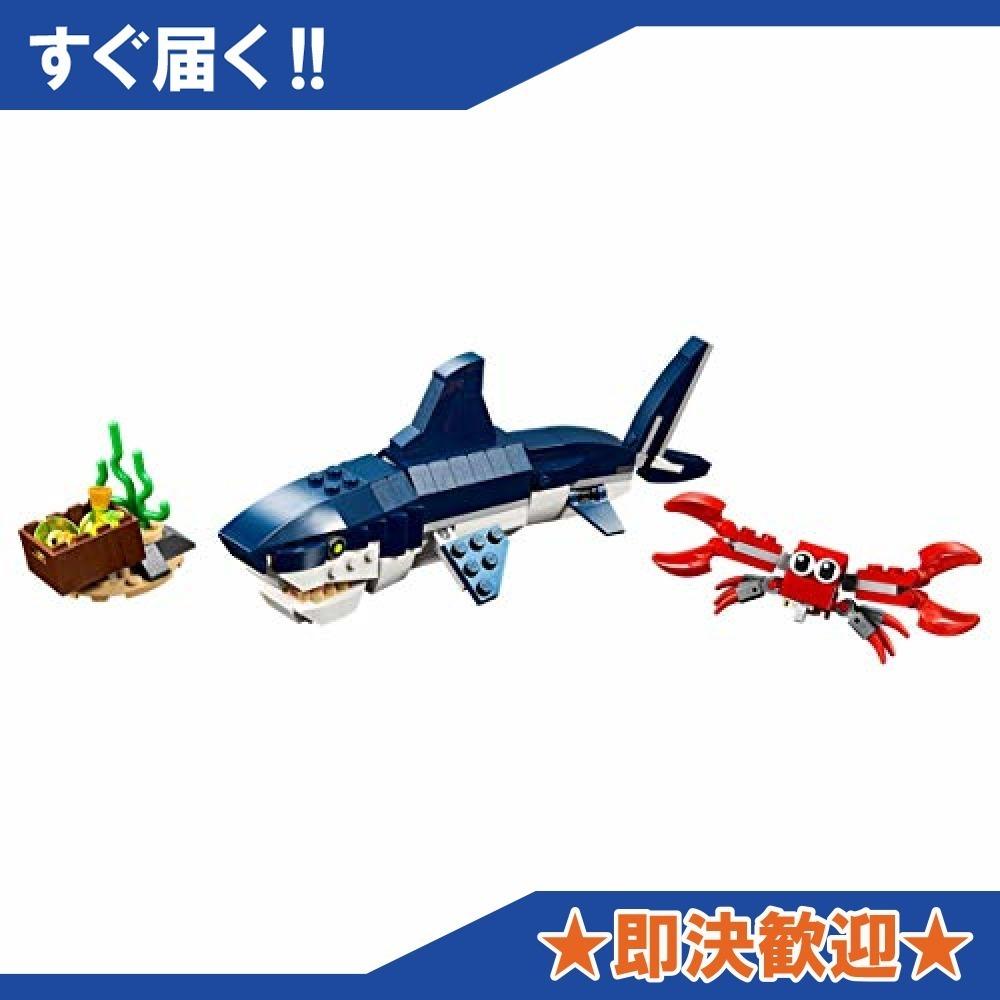 【 残り僅か】レゴLEGO) クリエイター 深海生物 31088 知育玩具 ブロック おもちゃ 女の子 男の子_画像3