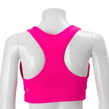 送料無料!即決★レディスS【PUMA】ブラトップ ミドルサポート スポーツブラ ピンク トレーニングウェアジョギングマラソンランニングドライ