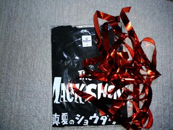 【ザ・マックショウ】Tシャツ黒サイズM新品未開封オマケ付き ライブグッズの画像