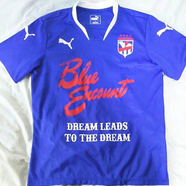 BLUE ENCOUNT サッカーTシャツ