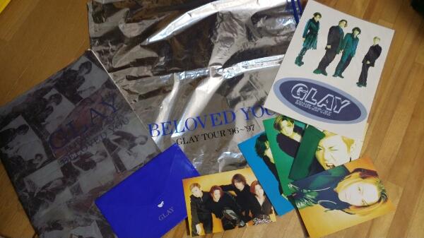 最終出品値下げ!GLAY★96年★BELOVED YOU TOUR★グッズ★セット