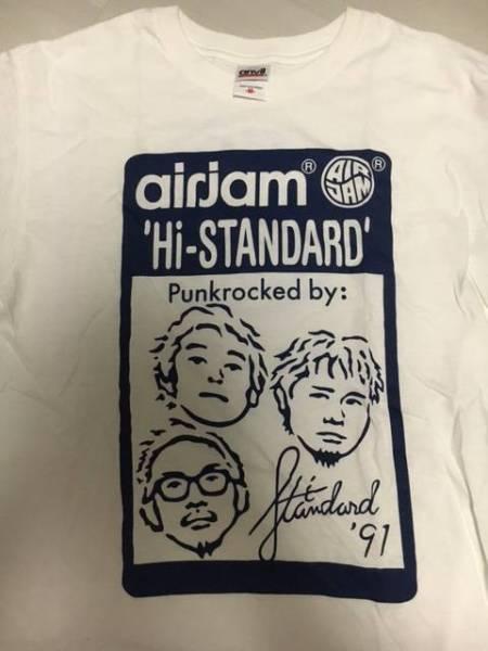 Hi-STANDARD☆Tシャツ新品Air Jam 2016 ハイスタンダード ライブグッズの画像