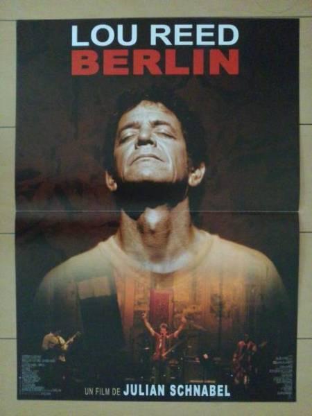 ルーリード/ライブフィルム「ベルリン」フランス版ポスター