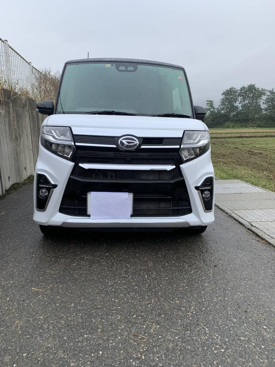 「令和元年式ダイハツタントカスタムRS 4WD車です。」の画像1