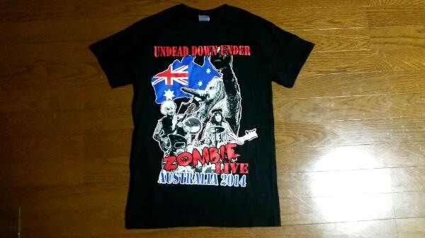 未着用ROB ZOMBIEロブゾンビ14年オーストラリア公演限定Tシャツ