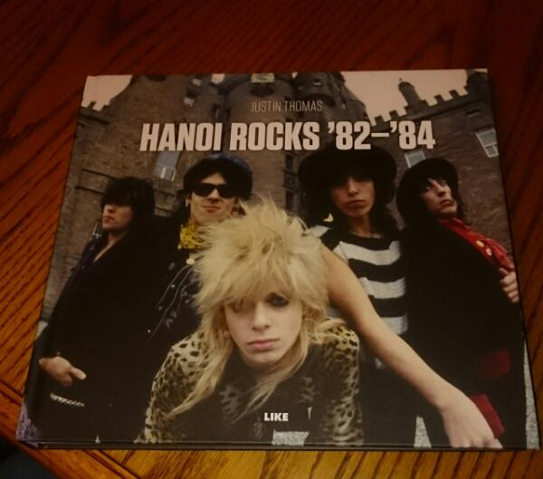 ハノイ ロックス写真集 HANOI ROCKS'82―'84
