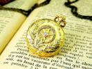 ダイヤモンドと18金 パテック フィリップのアンティーク懐中時計