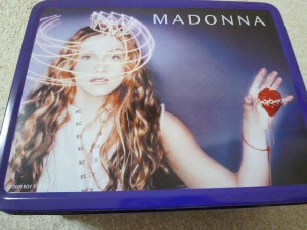 マドンナ MADONNA オフィシャル品  ランチボックス缶 2000 Boy Toy Inc. 製 ライブグッズの画像