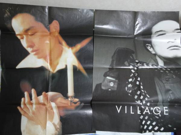 小沢健二 ポスター VILLAGE 3枚  ライブグッズの画像