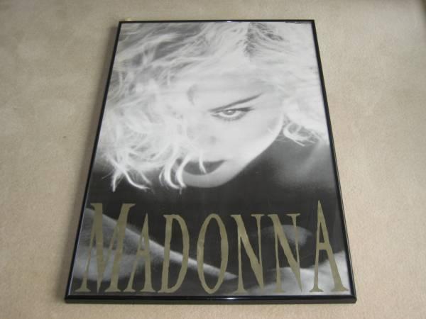 マドンナ 1990年 コンサートツアー ポスター 額入り MADONNA ライブグッズの画像