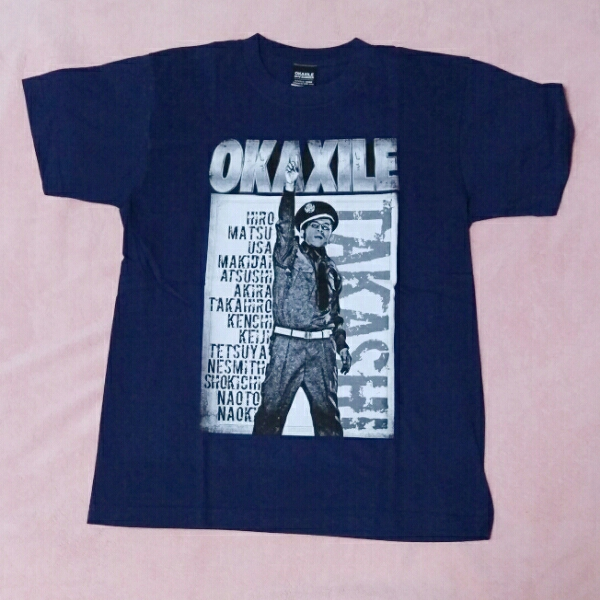 オカザイルウォンテッドTシャツ OKAXILE ネイビーS 未着用