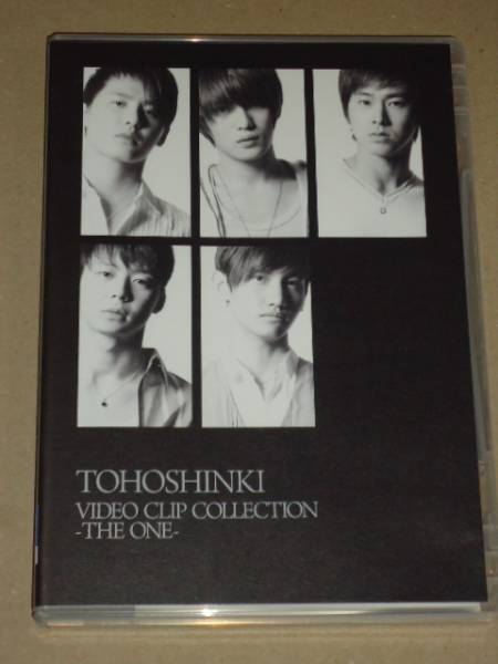 【DVD】東方神起 VIDEO CLIP COLLECTION -THE ONE- 初回盤  JYJ