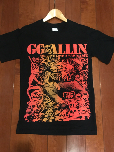 GG ALLIN ggアリン size S us hard core punk DK NA