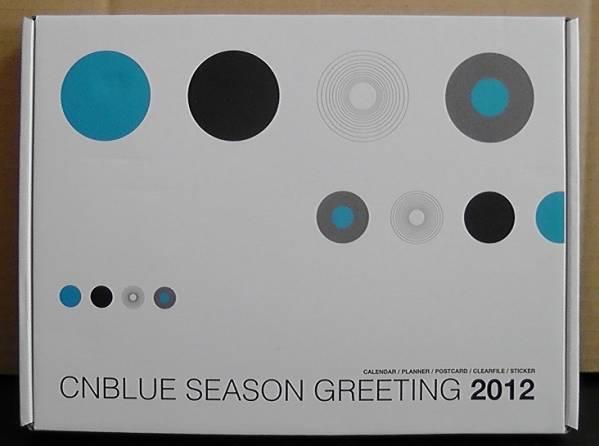 ★美品★ CNBLUE SEASON GREETING 2012 ☆DVD、手帳、カレンダー
