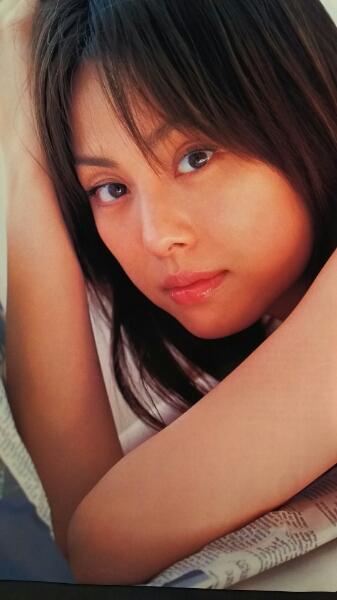米倉涼子【ビッグコミックスピリッツ】2005.7.18ページ切り取り