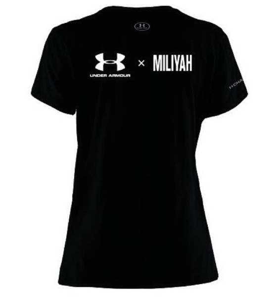 UA×MILIYAH 加藤ミリヤ チャリティーTシャツ アンダーアーマー