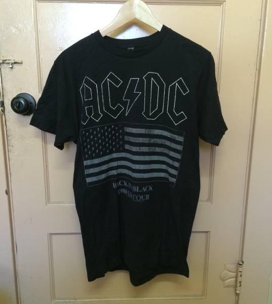 新品 ACDC Tシャツ メタリカ kanye カニエ nirvana rap tee M