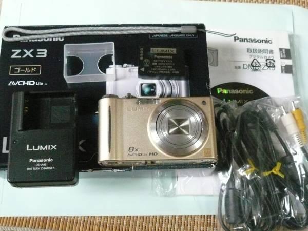 【格安】Panasonic★1410万画素★DMC-ZX3★美品USED RR99