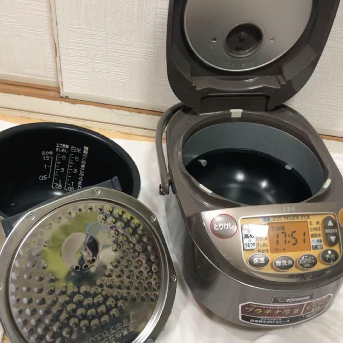 ZOJIRUSHI IH炊飯器 NP-VV10