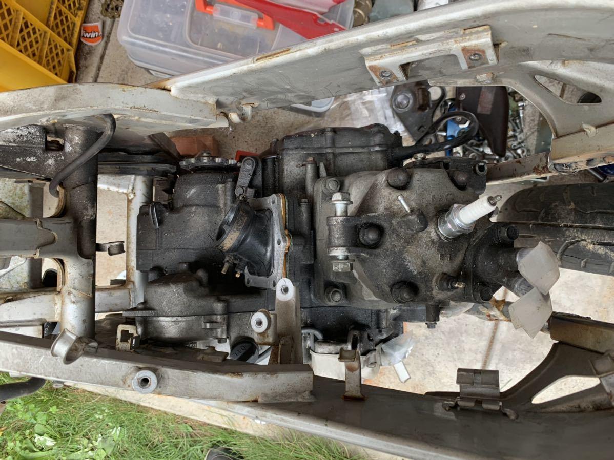 「ホンダ NSR150+CRM250Rエンジン 組立予告&宣伝出品」の画像3