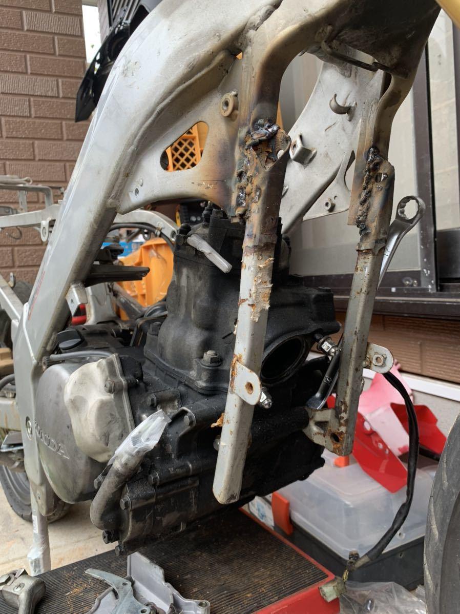 「ホンダ NSR150+CRM250Rエンジン 組立予告&宣伝出品」の画像2